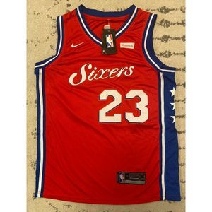 NWT 76ers Sixers Jersey Butler #23 Nike 50